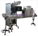 Het Etiket dat van de fles & het Krimpen Machine opneemt