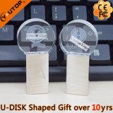 Memoria Flash di cristallo rotonda del USB del regalo (YT-3270-05)