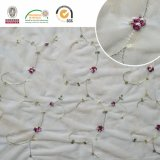 Africano Muticolour Lace Tecido para Lady Dress C10018