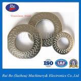 Rondelles latérales simples d'acier de rondelle à ressort de rondelles de dent de foudre de l'acier inoxydable Nfe25511 d'ODM&OEM