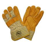 Перчатки верхней руки перчаток Cowhide зерна защитные управляя