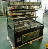 De Koeler van de Vertoning van de Sandwich van het roestvrij staal/de Teller van de Sandwich/de Ijskast van de Salade (k740an-m2)