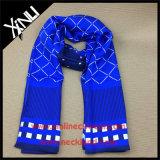 La alta moda Largo personalizado 100% seda bufanda impreso
