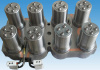 冷たいランナーの自動車の付属品の注入型