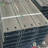 Materiale da costruzione galvanizzato della Camera della struttura d'acciaio del Purlin del ferro C