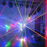 1W RGB Full Color Stage Light DJ Laser para o clube