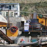 Sand-Zerkleinerungsmaschine-Maschinen-vertikale Welle-Prallmühle, die Screening-Gerät zerquetscht