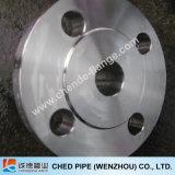 Acero inoxidable ASTM A182 F316 C150lb RF Sch40 del cuello de la soldadura del borde