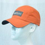 連続した帽子3Dの刺繍の野球帽のゴルフ帽