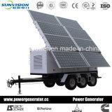 20kVA mobiele Generator, Genset met de Aanhangwagen van 2 Wielen