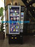 Mini máquina automática de venda automática para latas e bebidas com sistema de pagamento