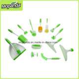 Линия Coated щетки PP люкса резиновый, кухня, Dishwash, туалет, губка,
