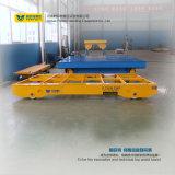 Carrinho de Bogie de transferência elétrica motorizado ISO no Workshop