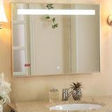 Miroir fait sur commande de salle de bains d'éclairage LED éclairé à contre-jour par Frameless de taille pour l'hôtel