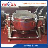 Maquinaria da transformação de produtos alimentares do aço inoxidável que inclina o fogão da chaleira do revestimento