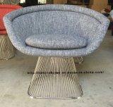 Alambre al aire libre de los muebles del restaurante del ocio del metal que cena la silla