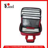 Saco de kit de primeiros socorros de poliéster vermelho
