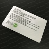 Impressora perfeita Custom Transparent PVC IC Clear Plastic Card