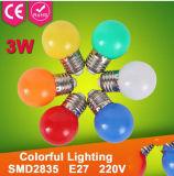 Illuminazione domestica chiara economizzatrice d'energia della lampadina variopinta del LED