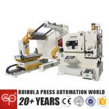 Press Machine와 Machine Tool에 있는 직선기 Feeder와 Uncoiler Use