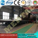 최신! Mclw12CNC-100*3200 큰 유압 CNC 4 대 롤러 격판덮개 구부리거나 회전 기계