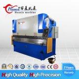 Máquina de dobra hidráulica do freio Wc67K-100t/3200 da imprensa da placa de metal do CNC