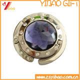Regalo de encargo de acrílico del gancho de leva del bolso de Fishion de la insignia/de la percha del bolso (YB-HD-48)