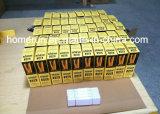 El brillo embotado calificado aduana del abrigo del oro 24K empapela el papel de balanceo del cigarrillo