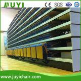 Salle de gym télescopique escamotable prix d'usine gradins des sièges pour la salle de théâtre Jy-780
