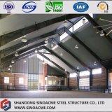 専門の鉄骨構造の納屋の保管倉庫