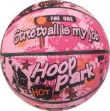 Vente en gros de basketball en caoutchouc coloré pour enfants