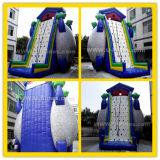 Mur gonflable mobile géant bon marché en gros commercial d'escalade d'usine de la Chine