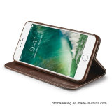 PUのiPhone 8/8plus7/7plus/6s/6splusのための革携帯電話の箱