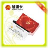 Подгонянная франтовская карточка PVC с магнитной прокладкой с конкурентоспособной ценой