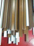 Profil de vinyle stratifié par film de conque