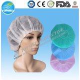 病院または大広間の使用のための非編まれた使い捨て可能なBouffant帽子