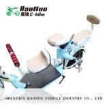 小型シリーズ母および子供のための電気モペットのスクーター