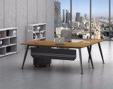 Ht80-2の黒によってカスタマイズされる金属の鋼鉄オフィスの管理の机フレーム