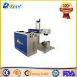 Marcador portátil do laser da máquina da marcação do laser da fibra de Mopa com fonte de laser
