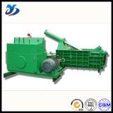 Prensa de la chatarra horizontal/embalador/máquina de Balling hidráulicos para los materiales de sobra del metal, pelado de acero