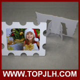 Material de papel multi-estilo Marco de soporte Foto Sublimación Puzzle