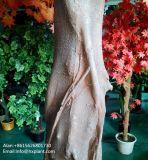 Árvore de bordo vermelho artificial da decoração do jardim para a parte externa ou o interior