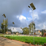 80W avec d'éclairage solaire haute illumination 150lm/W