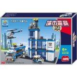 Sicherheits-und Notpolizei-Mitte-Block-Spielzeug für Kinder