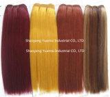 熱いぬれた、波状のバージンの中国かインドまたはブラジルの毛のよこ糸の拡張を販売する