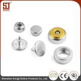 Tecla individual redonda da pressão do metal de Monocolor do metal feito sob encomenda