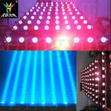 Luz movente da barra do diodo emissor de luz do DJ do feixe do disco 8X10W do estágio