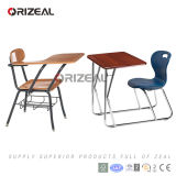 Secretária e cadeira combinadas de escritório único e cadeira