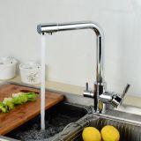 Misturador da cozinha do revestimento do cromo do Faucet do purificador da água de Flg