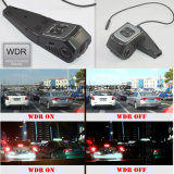 Nueva videocámara ocultada de la rociada del coche construida en la cámara del coche 5.0mega, CPU de Novatek Ntk96650, WDR, G-Sensor, GPS que sigue, WiFi para el control DVR-1519 del teléfono móvil